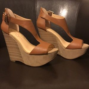 Jessica Simpson's Wedge Sandals